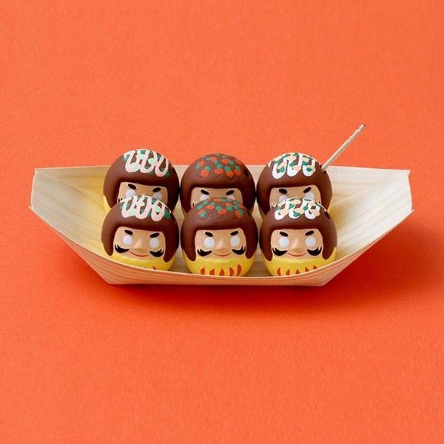 誠品獨家中川政七商店章魚燒為設計的陶製達摩御神籤
