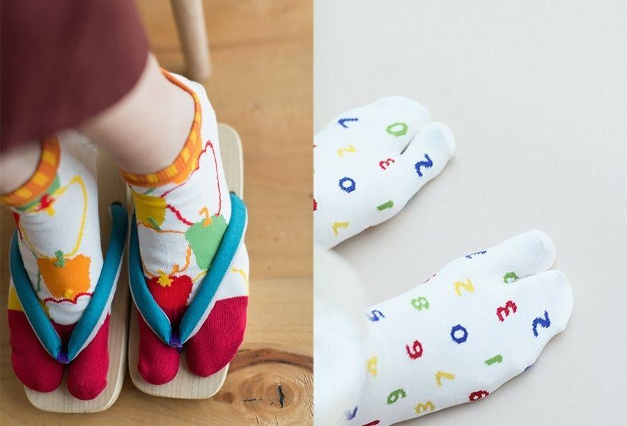 誠品獨家SOU・SOU獨特花紋的足袋
