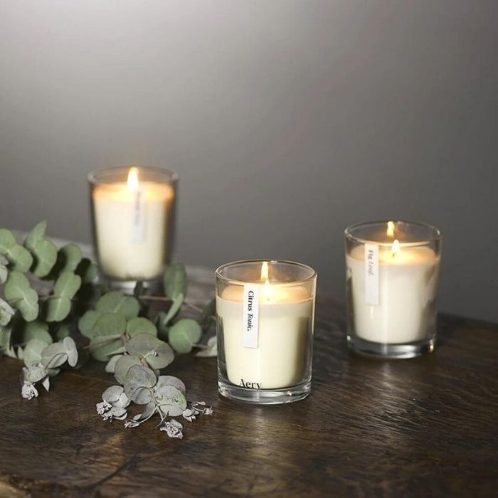 Aery植物學香氛蠟燭三入禮