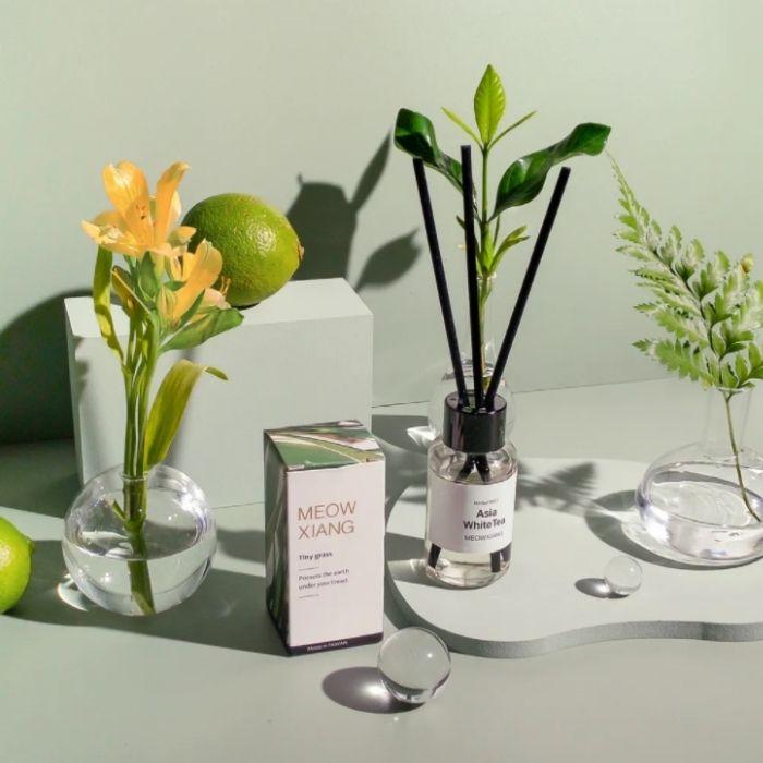 MeowXiang繆香空間擴香瓶,香氛能夠打造空間給人的氛圍與個性(圖片來源自繆香官網)