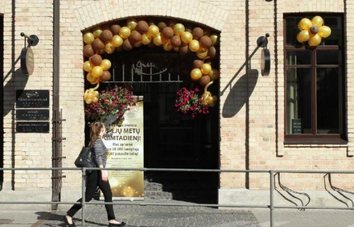 露特Ruta巧克力博物館,位於立陶宛修雷市
