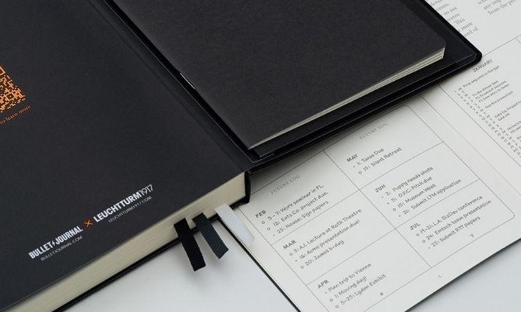 子彈筆記建立系統化的清單