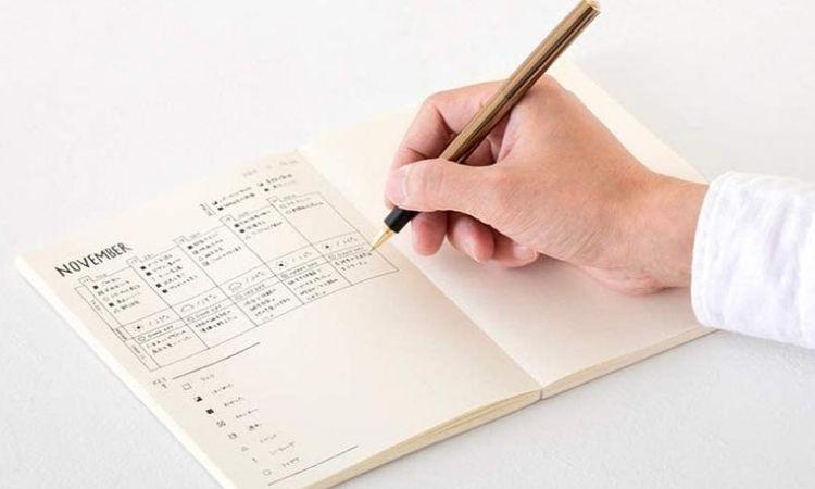 MIDORI MD Notebook Journal/ A5/ Dot grid