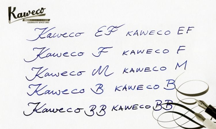 Kaweco鋼筆筆尖試寫