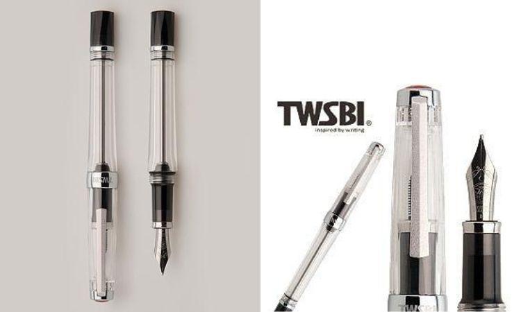 TWSBI VAC 700 R負壓吸墨式鋼筆/ 透明/ F