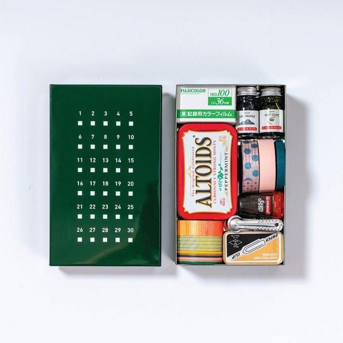 誠品30th獨家聯名KOKUYO THINK OF THINGS野帳的時空鐵盒