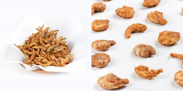 韩国地狱奶奶《金守美》品牌:花蟹 / 乾虾 / 黄太鱼鱼皮 / 鯷鱼