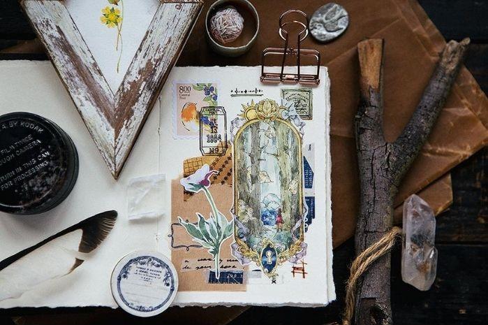 地图系纸胶带:OURS森林好朋友足迹者
