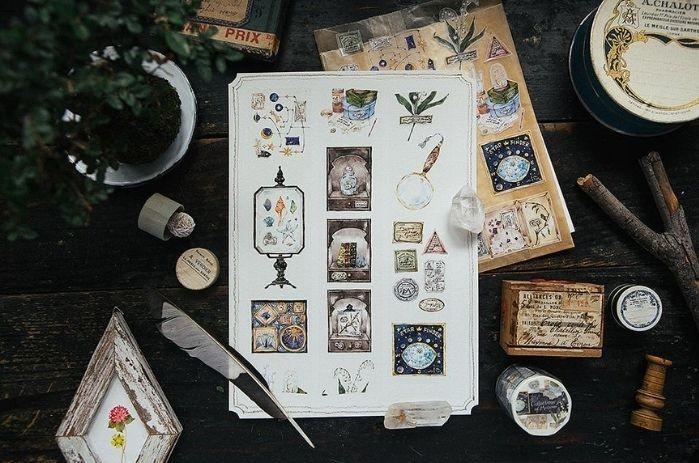 地图系纸胶带:OURS森林好朋友博物馆