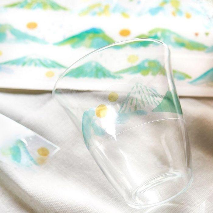 pet纸胶带装饰水杯