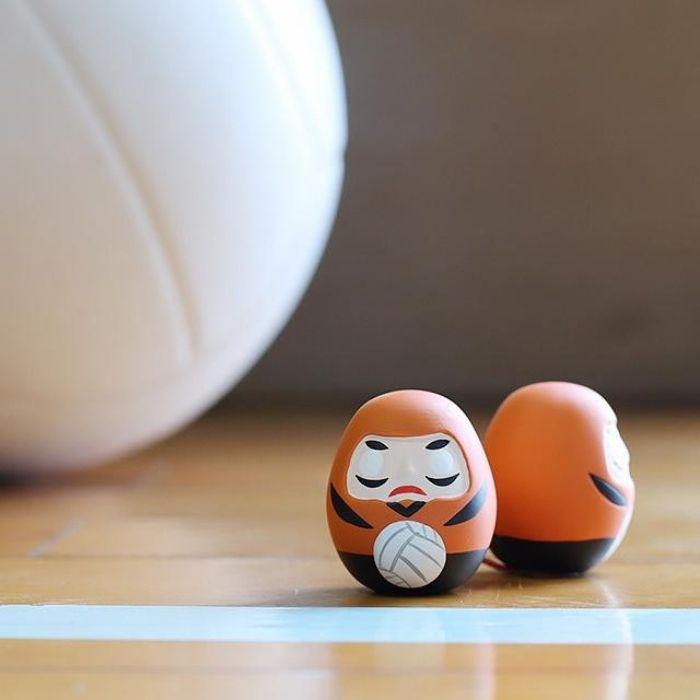中川政七商店 Fortune Slip/ Daruma/ Sports/ Volleyball