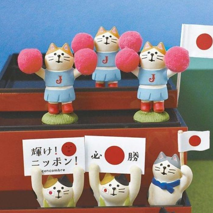 DECOLE Concombre Cheer Leader Cat