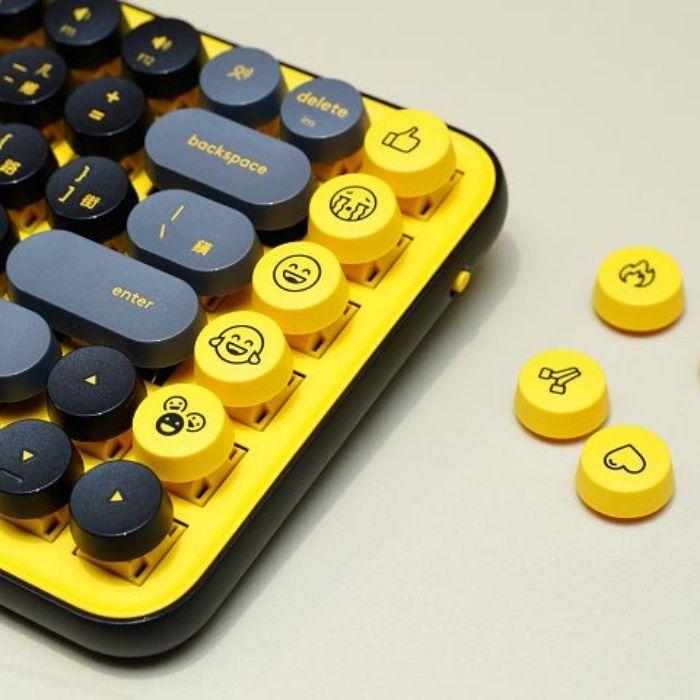 logitech POP Keys 無線機械式鍵盤