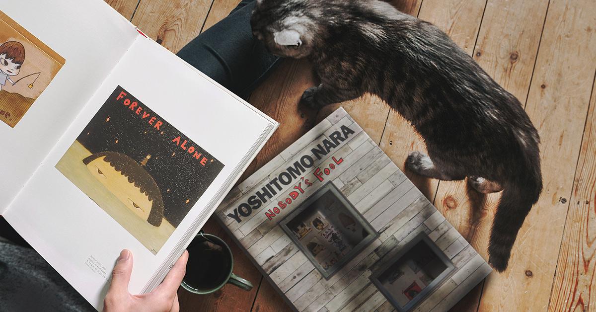 专访奈良美智:没有比被猫特别友好对待更开心的事了